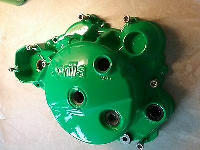 Aprilia RS125 06 to 12 122 Engine Clutch  Case + bolts POWDER COATED NEON GREEN