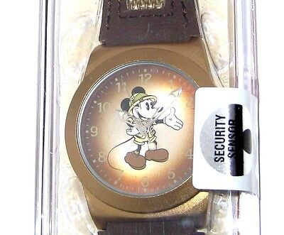 Disney Park Authentic Watch✿Mickey Mouse Camper Safari Pith Helmet Classic Pose
