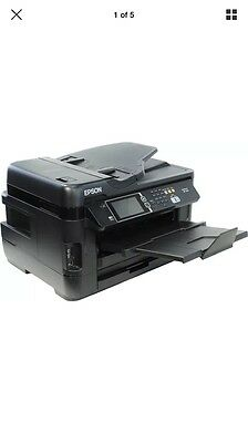 Epson WF-7620 DWF All-in-One Wireless A3 Colour Inkjet Printer Fax scanner