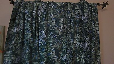 Laura Ashley 2 Panels (1 Pair) Bramble Drapes Curtains Lined 40X84 Have 5 Prs
