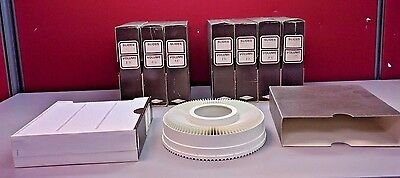 "Sawyer's GAF Rotary Slide Tray - Holds 100 2"" x 2"" Slides w/ Box"