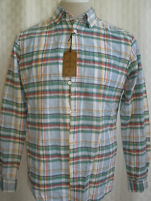 Howick House Of Fraser Cotton Blend Long Sleeve Shirt Size M Hot Rare Nwt  £45