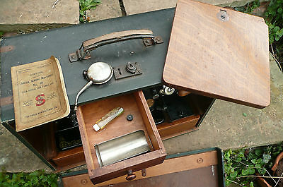 Singer  Sewing Machine With Instructions And Accessories Boxed