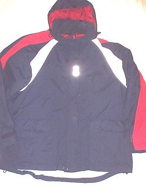 Mens Helly Hansen Hellytech Sailing Waterproof Yachting Jacket Size Xxl 2Xl