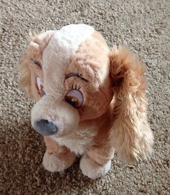 Disney Store Lady And The Tramp Lady 30cm Plush Soft Toy Comforter