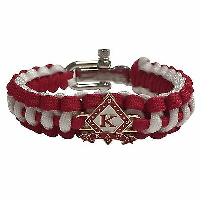 Kappa Alpha Psi Paracord Bracelet - Adjustable Size