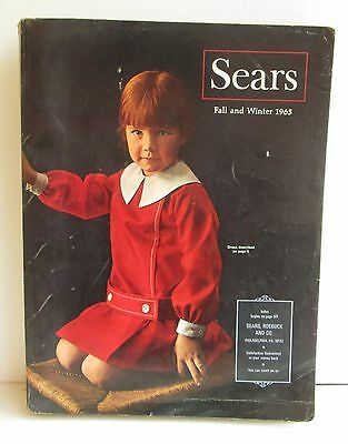 Sears Fall and Winter 1965 Catalog (1047 Pages of History)