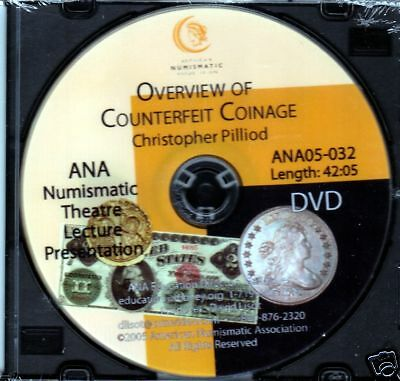 Overview of Counterfeit Coinage - Pilliod - DVD - Video