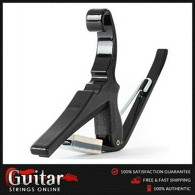 Kyser 12 String Quick Change Acoustic Guitar Capo Black USA High Quality New