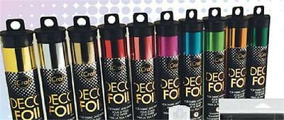 ICRAFT DECO FOIL by Therm O Web (Mulitple colors)