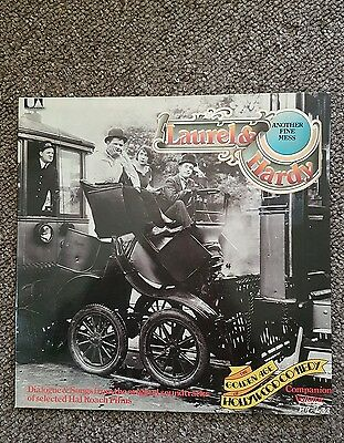 Laurel and hardy another fine mess vinyl record compilation LP