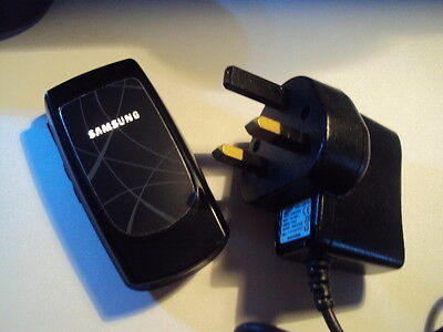 Retro Original Samsung Sgh-X160 Unlocked Easy Elderly Simple Mobile Phone+Charge