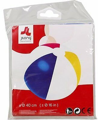 Inflatable 40cm Beach Ball Summer Pool Beach Play Toy Kids Adults NEW Free Post