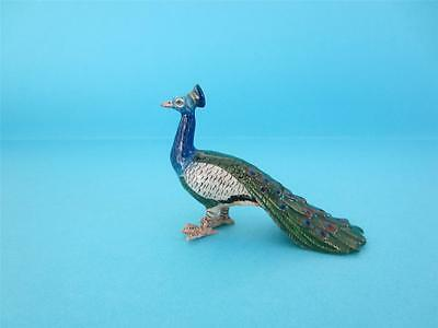 LOVELY NORTHERN ROSE BIRD PEACOCK FIGURINE POPULAR SO NICE *Mint*