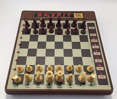 Vintage RARE Gambit Interactive Chess Challenger Computer 6084 w/ Box & Manual