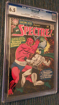 Showcase #61 CGC 6.5 OW/W Pages - Second silver age Spectre!!