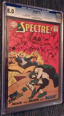 The Spectre #2 CGC 8.0 OW/W Pages - Neal Adams!