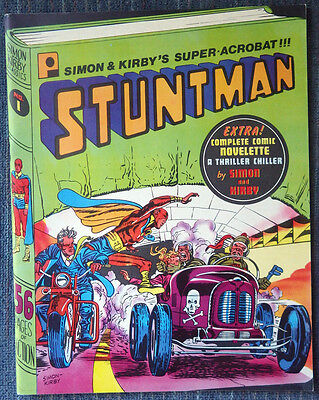 Simon & Kirby Classics #1 - Stuntman B&W reprints - Beautiful copy!