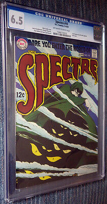The Spectre #10 CGC 6.5 WO/W Pages - Dare You Enter the World of The Spectre!