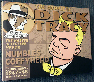 Dick Tracy Volume 11 - IDW hardcover 2011 - Beautiful condition