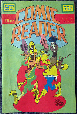 The Comic Reader #143 - 1977 Newzine - John Byrne cover of Powerman & Iron Fist!