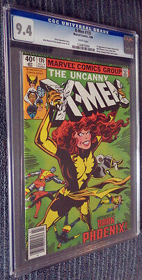 X-Men #135 CGC 9.4 White Pages - Defeated by Dark Phoenix!