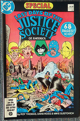 Last Days of the Justice Society Special #1 - High Grade!