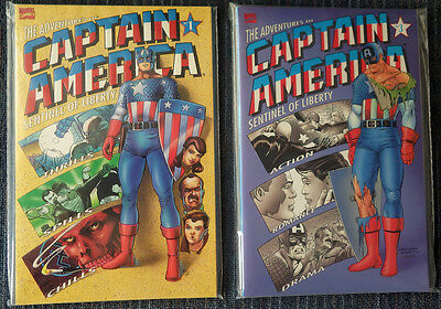 Adventures of Captain America #1-4 Complete HIGH GRADE