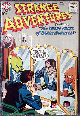 Strange Adventures #102 - The Three Faces of Barry Morrell!
