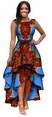 African wax print dress. Available in size: XXL, 3XL and 4XL • EUR 71,34
