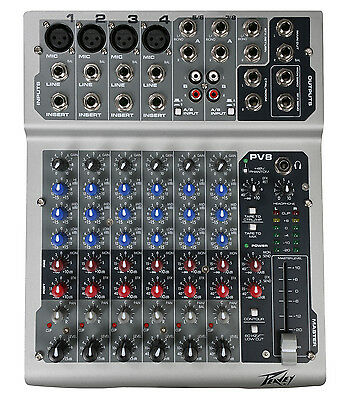 PEAVEY PV 8 PV Series 8 Input Stereo Mixer