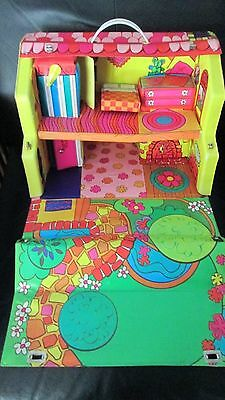 Vintage 1968 Liddle Kiddles Talking ( no)  Townhouse Playhouse Doll Case House