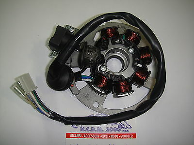STATOR IGNITION FOR ALL ENGINES GY6 1PE40QMB 50cc 2T 971064X