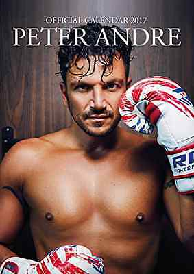 Peter Andre Official 2017 A3 Wall Calendar Mr Six Pack Sexy Pop Star BRAND NEW
