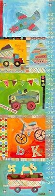 Oopsy Daisy Get Moving Growth Chart, Get Moving, Multi