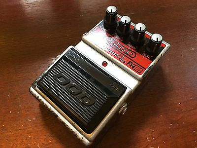 DOD FX101 Grind Rectifying Overdrive Guitar Effect Pedal - Collector Condition