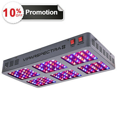 VIPARSPECTRA 900W LED Grow Light 12 Band Full Spectrum with VEG BLOOM Switches