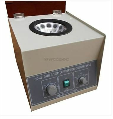 Electric Centrifuge 4000Rpm Lab Medical Practice Timer 80-2 New 20Ml X12 Y