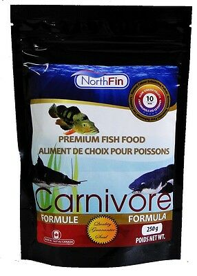 NORTHFIN CARNIVORE FORMULA Large Predator Fish Food 10 mm 500 g