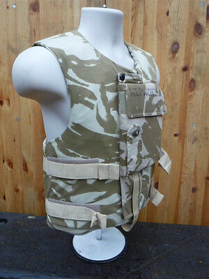 """Army Flak Body Armour Vest WITH PLATES Complete Bulletproof Ballistic 41"""" Chest"""