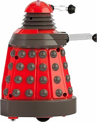 Dr Who Speaker Smart Phone Operated Bluetooth Remote Desktop Daleks Red Toy Gift