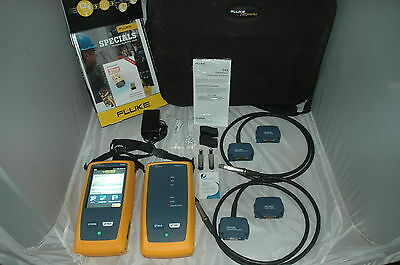 Fluke DSX-5000 1GHz DSX Series Cable Analyzer with FREE WIFI Dongle Firmware 4.8