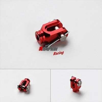 Red Rear Brake Pedal Clevis Clamp for Yamaha Tricker XG250 001