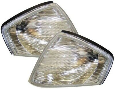 Mercedes Sl R129 Front Indicator Lights - Clear