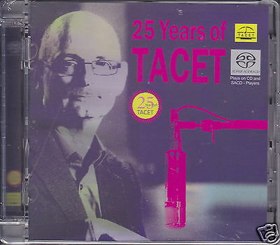 """""""25 Years of TACET - The Best Of"""" Hybrid SACD Made in Germany Audiophile CD New"""
