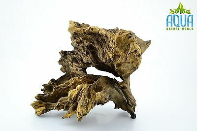 (A-5629)  Oak Bogwood Aquarium Wood (Red moor) Size L