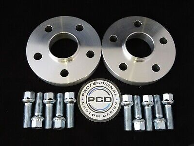 Pair 5x100 Hubcentric Spacers, 30mm Wide 57.1CB 10 Wheel Bolts VW AUDI UK Made