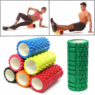 Trigger Point Grid Foam Roller Sports Massage Exercise Textured Yoga Physio