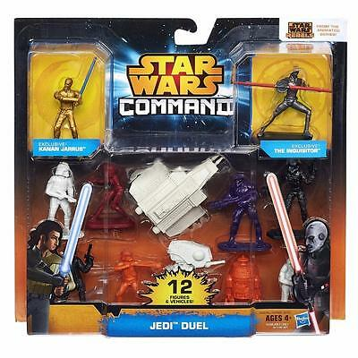 NEW Star Wars Command Jedi Duel Hasbro 12 Figures