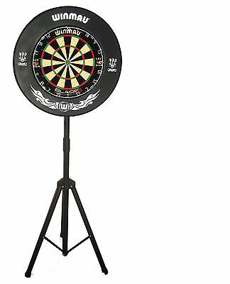 ** Quality Portable Pro Player Dartboard Stand ** Dart Board Pop Up Caddy **